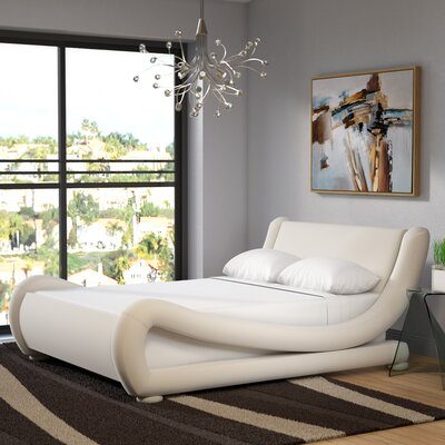 Khara Upholstered Platform Bed Size: Queen