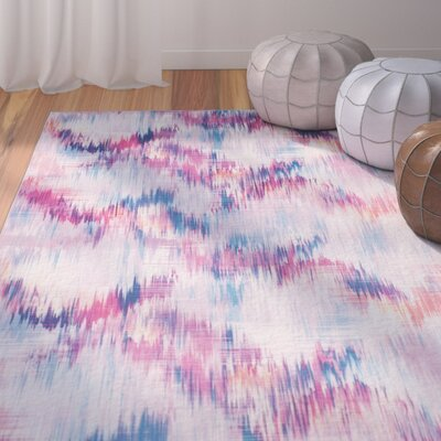 Janiyah Purple Area Rug Rug Size: Rectangle 51 x 76