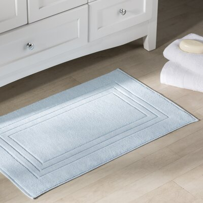 Bloomberg Bath Mat Color: Sky Blue