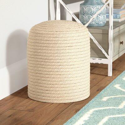 Chuckanut Pouf Ottoman Upholstery: Tan