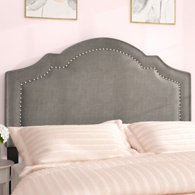 Gwyneth Upholstered Panel Headboard Size: King