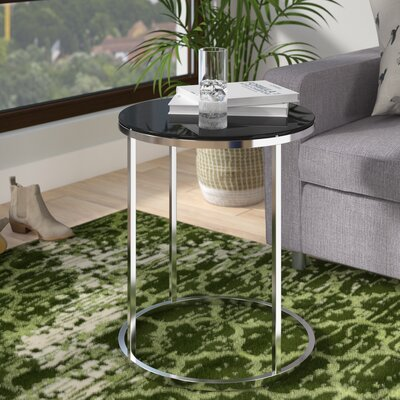 Boehm Round End Table