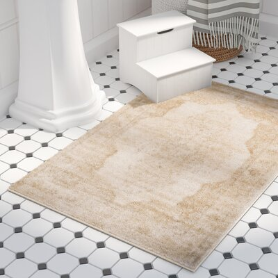 Parkmead Cream Area Rug Rug Size: Rectangle 2 x 3