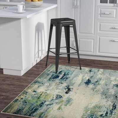 Chenango Blue Area Rug Rug Size: Rectangle 5 x 8