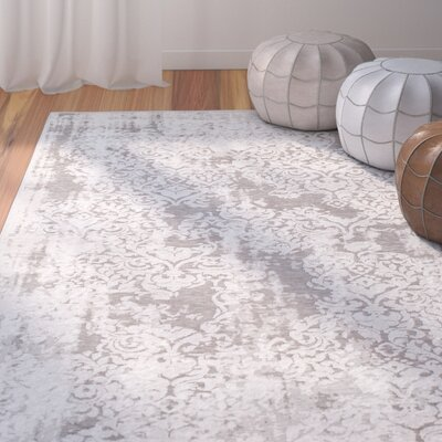 Svendborg Gray Area Rug Rug Size: Rectangle 53 x 73
