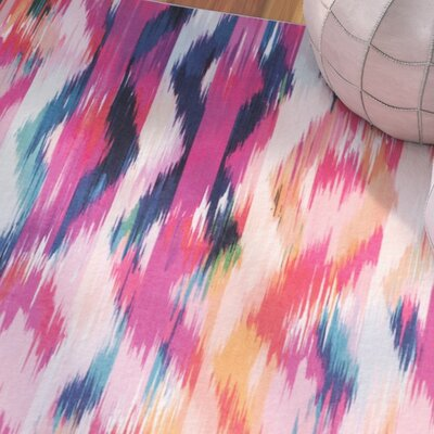 Janiyah Pink Area Rug Rug Size: Rectangle 3 x 5