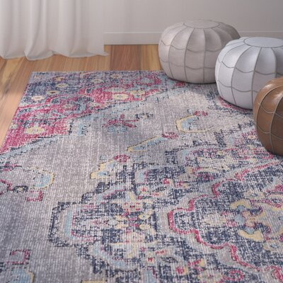 Schifflange Taupe Area Rug Rug Size: Rectangle 8' X 11'