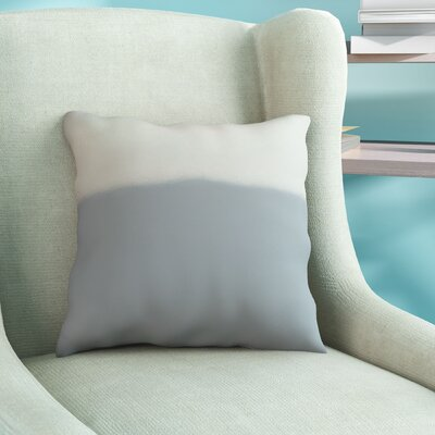 Bunnell Throw Pillow Size: 16 H x 16 W, Color: Silver