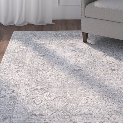 Obannon Gray Area Rug Rug Size: Rectangle 5 x 75