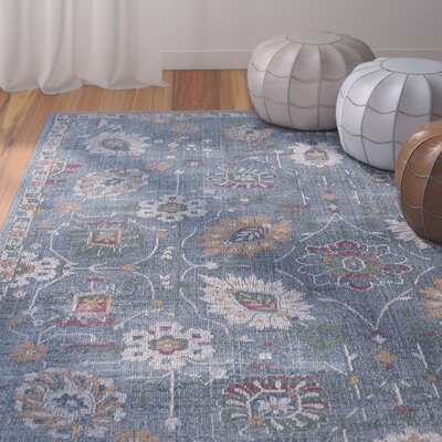 Dominick Modern Rectangle Gray Area Rug Rug Size: Rectangle 710 x 103
