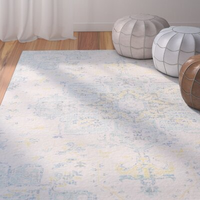 Lyngby-Taarb�k Aqua Area Rug Rug Size: Rectangle 93 x 13