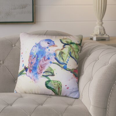 Alexandre Bird No Cord Outdoor Throw Pillow