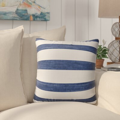 Madyson Burlap Indoor/Outdoor Throw Pillow Size: 18