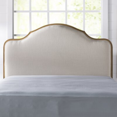 Barbery Upholstered Panel Headboard Size: Queen
