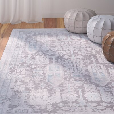 Svendborg Taupe/Gray Area Rug Rug Size: Rectangle 710 x 103
