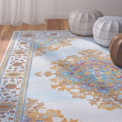 Dominick Modern Cream Area Rug Rug Size: Rectangle 53 x 73