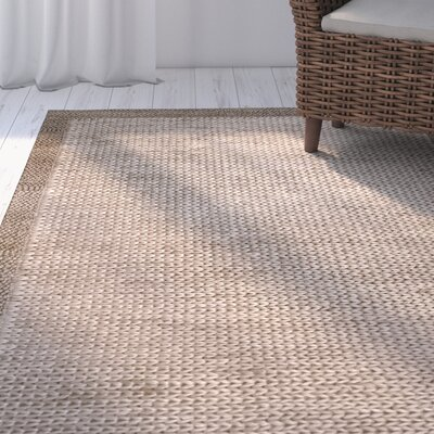 Devonshire Hand-Woven Brown Area Rug Rug Size: 5 x 8