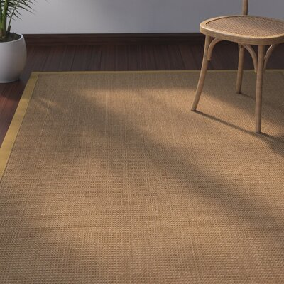 Jamesville Hand Woven Brown Area Rug Rug Size: Rectangle 3 X 5