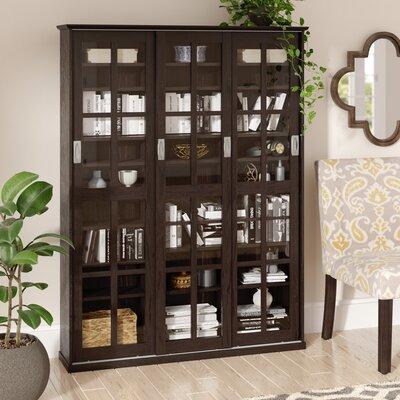 Jones Standing Multimedia Cabinet Color: Espresso