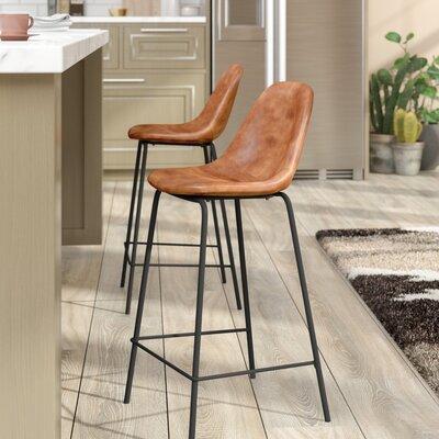 Lafayette 23.5 Bar Stool Upholstery: Honey