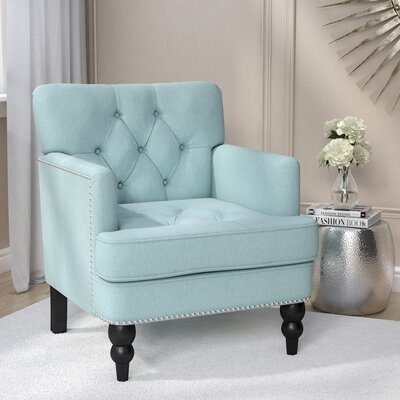Gillmore Armchair Upholstery : Light Blue