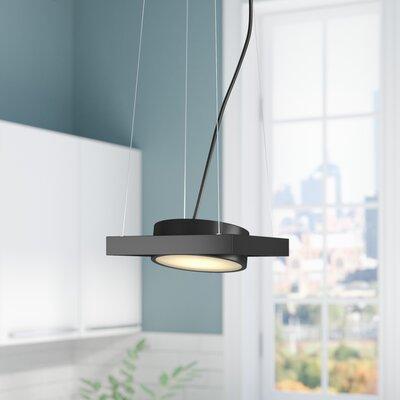Cheleb 1-Light LED Pendant Finish: Textured Black