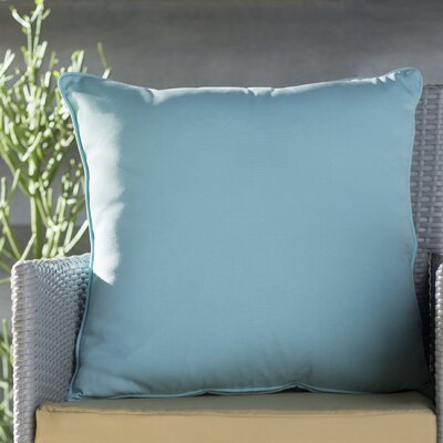 Lavonna Outdoor Throw Pillow Color: Fresco Caribbean, Size: 20 H x 20 W