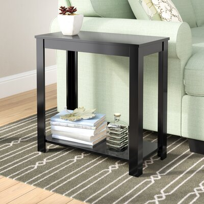 Waterloo End Table Color: Black