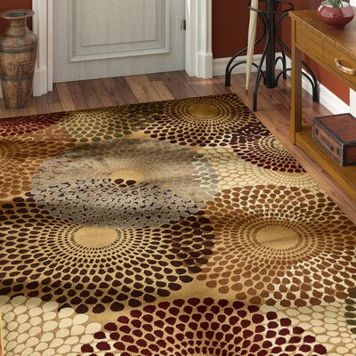 Apex Beige Area Rug Rug Size: Rectangle 9 x 12