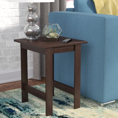 Everett End Table Color: Espresso