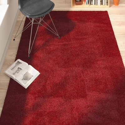 Verna Red Area Rug Rug Size: Rectangle 9' x 12'