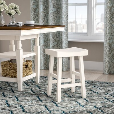 Christensen 25 Bar Stool Finish: Antique White