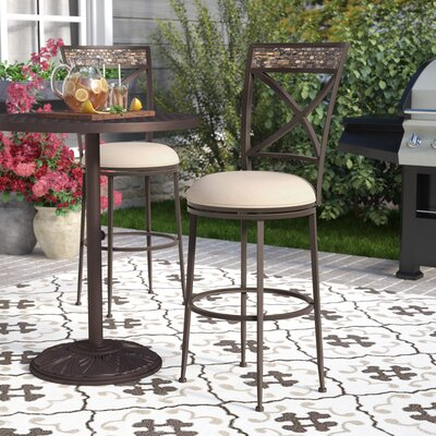 Howland 30 Swivel Indoor/Outdoor Patio Bar Stool