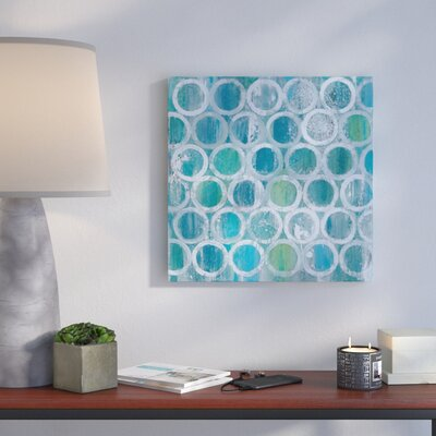 Stack of Tubes Painting Print on Wrapped Canvas Size: 12