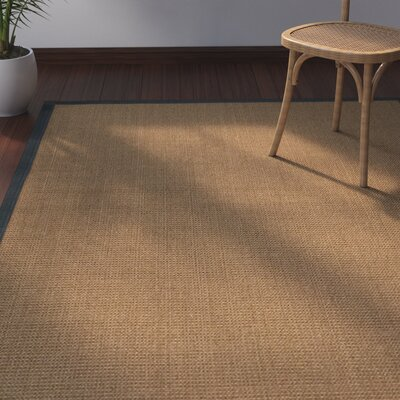 Jamesville Hand Woven Brown Area Rug Rug Size: Rectangle 4 X 6