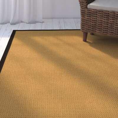 Coleridge Hand-Woven Beige Area Rug Rug Size: Rectangle 4 x 6
