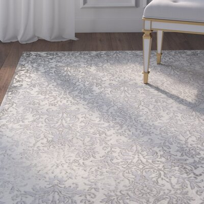 Wickson Gray Area Rug Rug Size: Runner 23 x 8