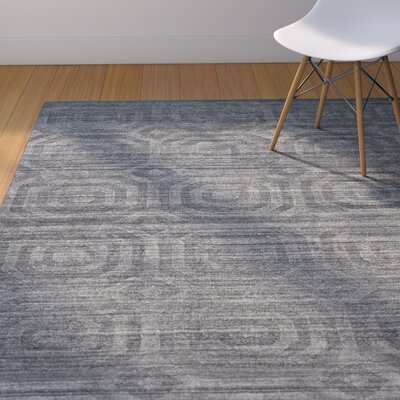 Arena Dark Gray Area Rug Rug Size: Rectangle 9 x 12