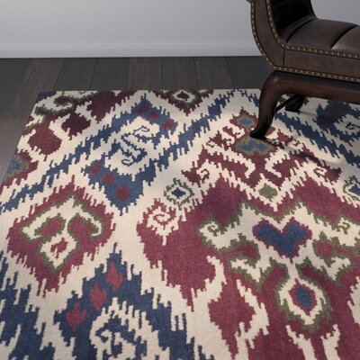 Camden Hand-Tufted Blue Area Rug