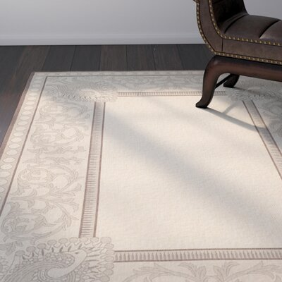 Catori Natural / Chocolate Outdoor Area Rug Rug Size: Runner 24 x 911