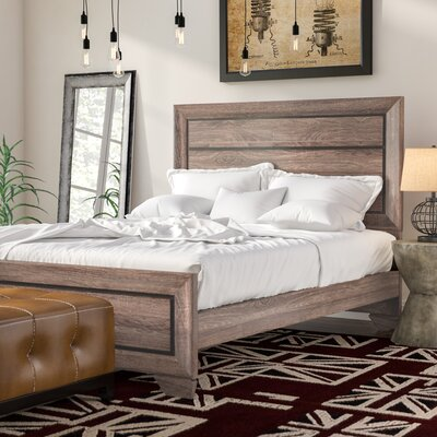 Barnsdall Panel Bed Size: Queen