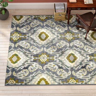 Victoria Blue Indoor/Outdoor Area Rug Rug Size: Runner 2 x 6