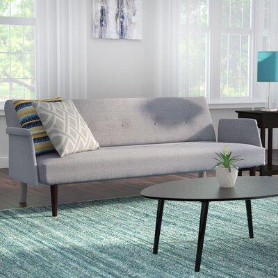 Charmayne Sleeper Sofa Upholstery: Ash