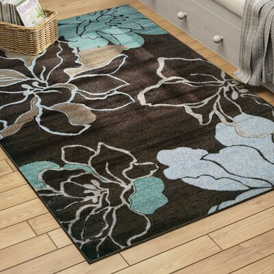Carlee Brown/Sand Area Rug Rug Size: Rectangle 8 x 103
