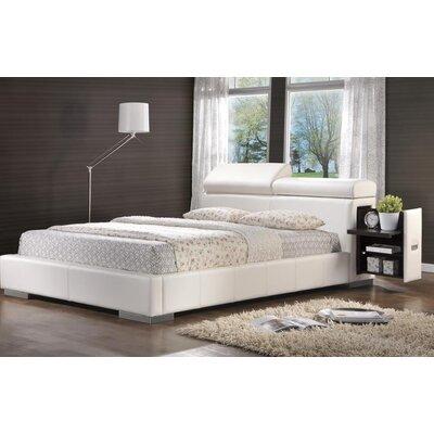 Berger Upholstered Storage Platform Bed Size: Queen