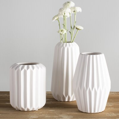 Elkhart 3 Piece Vase Set LGLY2537 28373186