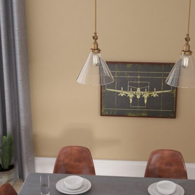 Serena 1-Light Mini Pendant Finish: Warm Brass