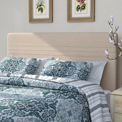 Amenia Upholstered Panel Headboard Size: Full/Queen, Upholstery: Sterling Oyster