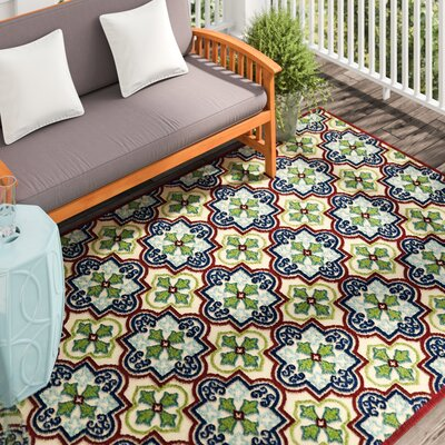 Meriden Machine Woven Indoor/Outdoor Area Rug Rug Size: Runner 26 x 71