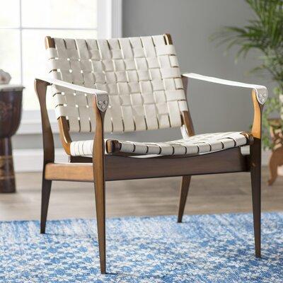 Sheldon Armchair Upholstery: white